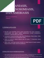 Leismaniasis, Trypanosomiasis, Dan Amebiasis
