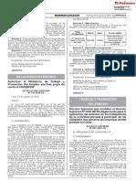 DS que modifica el Decreto Supremo N° 009-98-TR