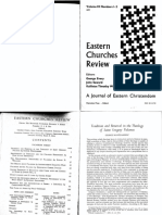 Eastern Churches Review-Palamism Today