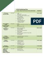2018 REHVA Publishing Plan Final