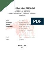 Decretos y Autos en El Perù