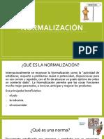 Resumen Normalización, Acreditación y Certificación, Marzo 2017