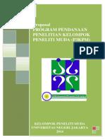 Proposal Kegiatan Program Pendanaan Penelitian