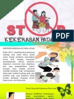PPT Komunitas Kekerasan Pada Anak