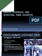 Dampak Psikosial dan spiritual pada Disaster.ppt