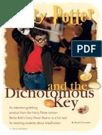 Harry Potter Dichotomous Key