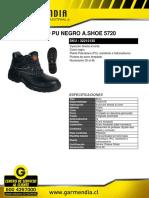 Botin Komodo Pu Negro a.shoe 5720