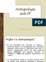 Aula de Antropologia