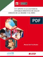Promocion y Apoyo a La Lactancia Materna Exclusiva