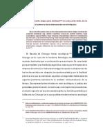 García Pablos - Criminología, Pp. 542-547 (Escuela de Chicago. Primera Etapa)