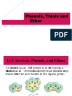 Alcohol, Phenols, Thiol & Ether