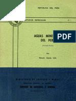 D001 Boletin Aguas Minerales Peru 1ra Parte