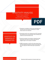 Sensitiviy Analysis - FINAL