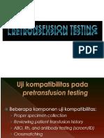 Pretranfusion Testing