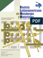 RLMM-LATINOAMERICA2009-V29N2