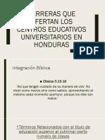 Carreras Que Ofertan Los Centros Educativos Universitarios En