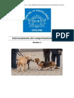 Comportamiento Canino - Módulo 4