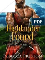 Highlander Found_ a Scottish Ti - Rebecca Preston.en.Es