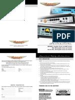 Ashdown Bass Amp 180 manual