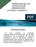 Características de Los Protocolos De