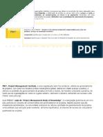 O gerenciamento de projetos oferece às organizações métodos e processos que dotam os envolvidos de meios adequados para planejar.docx