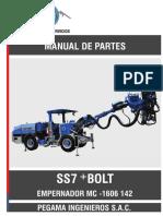 SS7+ BOLT_Manual de Repuestos