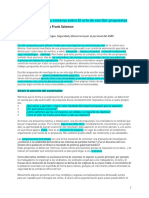 Art of Writing Proposals DSD Spanish