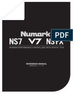 Numark ITCH 1.7 Reference Manual English