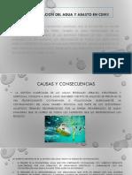 Contaminacion Del Agua y Abasto en Cdmx