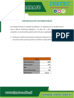 FRANCIS NICARAGUA Amortización de Préstamos CD Ejercicios 1