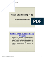 Value Engineering [4-5]