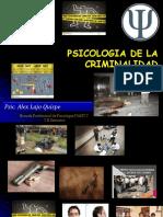 Psicología de la criminalidad