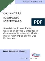 Infineon ICE2PCS02 DS v02 04 En