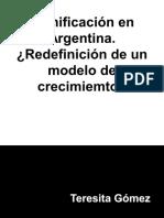 Planificacion en Argentina