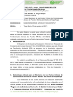 INFORME 060- Monitoreo de Los Puntos Críticos de Contaminación Sonora Moviles Primera