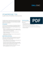 PowerEdge T30 Spec Sheet