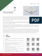 Quectel AG35 LTE Specification V1.1