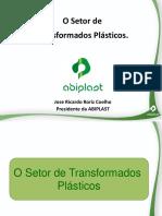 O setor de transformados plásticos