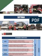 exposicion sutran reglamento nacional de administración de transporte