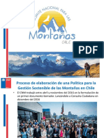 Poltica de Montaas Chile