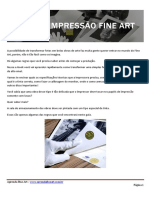 E-book Impressao Fine Art