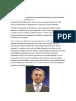 Cronica Interpretativa Alvaro Uribe