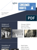 consumer rights project