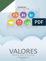 Valores informe