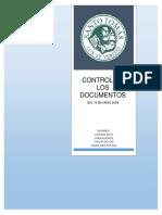 ISO 14001 Control de Documentos