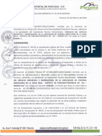 Informe de Parcona