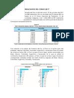 Resultados Del Censo 2017
