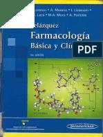 Farmacologia Basica y Clinica de Velasquez 18º Edicion