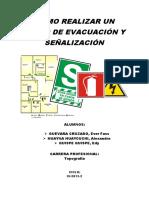 Como Realizar Un Plano de Evacuación