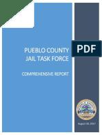 Pueblo County Jail Task Force 2017 Comprehensive Report